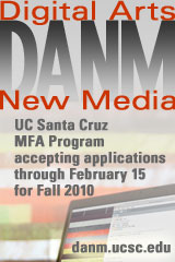 UC Santa Cruz DANM MFA program