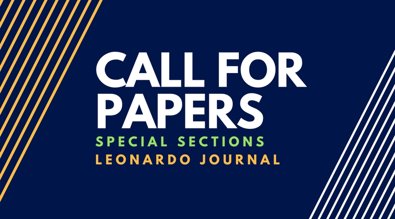 Call for papers - special sections