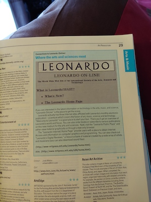 Leonardo in the McKinley Yellow Pages 1995