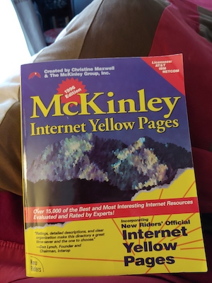 McKinley Group Internet Yellow Pages 1995