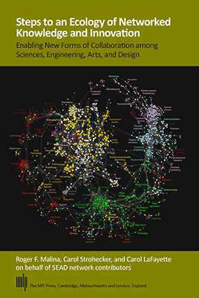 """Map of Science Derived from Clickstream Data"" (2009). © Johan Bollen. Used with permission."