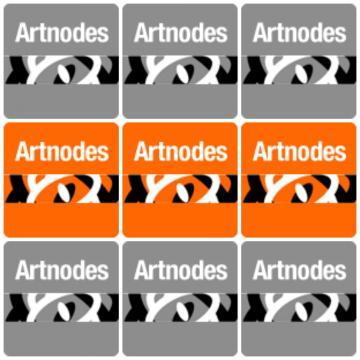 Artnodes journal logo grid